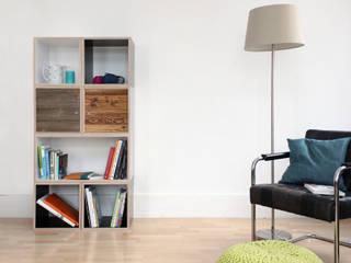 Würfelregal W1 Zweitform WohnzimmerRegale Holzwerkstoff Mehrfarbig