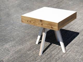 Beistelltisch B1 Zweitform WohnzimmerCouch- und Beistelltische Holzwerkstoff Mehrfarbig