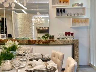 Decora Lider Campinas - Sala de Almoço – Em Volta da Mesa Salas de jantar modernas por Lider Interiores Moderno