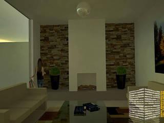 Ruang Keluarga oleh HHRG ARQUITECTOS, Klasik