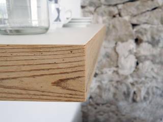 Wandtablare T1 Zweitform KücheSchränke und Regale Holzwerkstoff Mehrfarbig