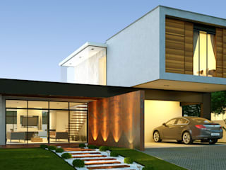Modern Houses by Lucas Buarque de Holanda Arquiteto Modern