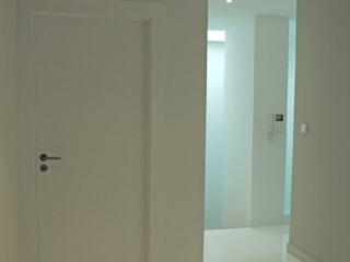 Modern Koridor, Hol & Merdivenler Borges de Macedo, Arquitectura. Modern