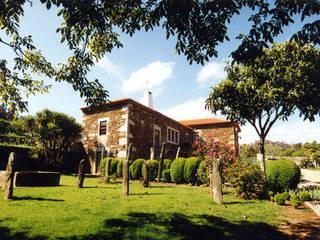 Wiejskie domy od Borges de Macedo, Arquitectura. Wiejski