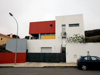 Modern Evler Borges de Macedo, Arquitectura. Modern