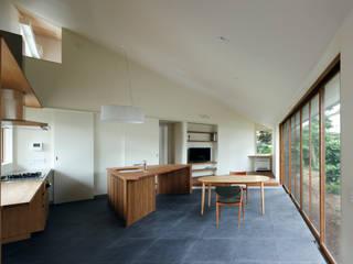 矢の口の家: 向山建築設計事務所が手掛けたダイニングです。