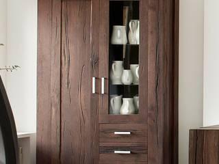 Braxton - Massivholzmöbel mit natürlichen Wuchsrissen AMD Möbel Handelsgesellschaft mbH & Co. KG WohnzimmerSchränke und Sideboards Massivholz Braun
