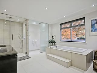Ince Road, Burwood Park Modern bathroom by Concept Eight Architects Modern