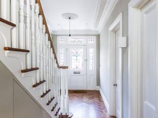 Ashley Road Concept Eight Architects Pasillos, vestíbulos y escaleras modernos