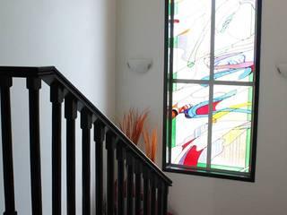 Bisma Bienes Raices Corridor, hallway & stairsStairs