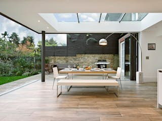 Woodville Gardens Modern terrace by Concept Eight Architects Modern