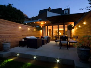 Swaffield Road Modern Garden by Concept Eight Architects Modern