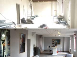 Aménagement bureaux:  de style  par LUCAS Maitrise d'Oeuvre