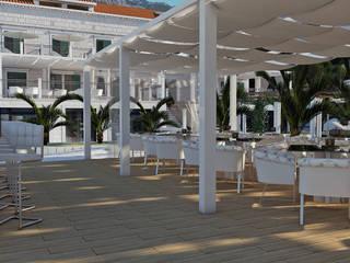 Hotel Villa Mediteranea Giardino in stile mediterraneo di ProAmbient Mediterraneo