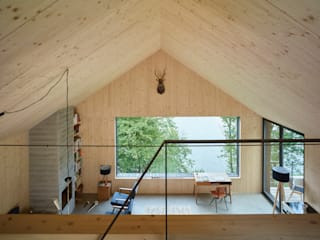 Гостиная в стиле модерн от Backraum Architektur Модерн