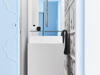 Salle de bain originale par Architetto Alboini Maria Gabriella Éclectique
