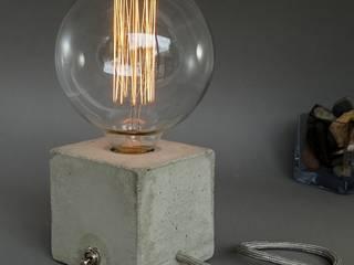Uniikat.de Study/officeLighting Stone Grey