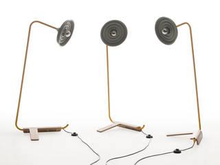 Lees - lamp Jochem Kruizinga Living roomLighting Metal Yellow