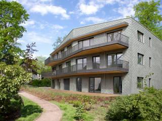 Südfassade:  Häuser von Ziegert | Roswag | Seiler Architekten Ingenieure