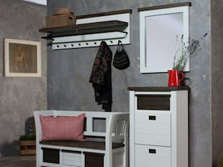 Loft - der erste Eindruck zählt! AMD Möbel Handelsgesellschaft mbH & Co. KG Flur, Diele & TreppenhausKleiderständer und Garderoben