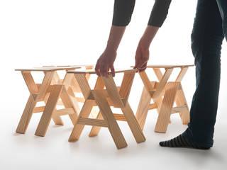 Krkr - stool Jochem Kruizinga Living roomStools & chairs Wood Wood effect