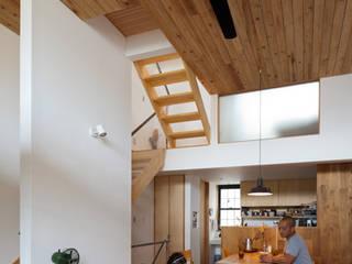 藤森大作建築設計事務所 Eklektik Oturma Odası