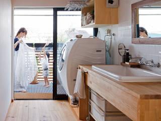 テレコハウス オリジナルスタイルの お風呂 の 藤森大作建築設計事務所 オリジナル