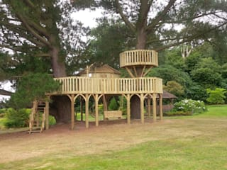 FROM DESIGN TO BUILD:   by Cheeky Monkey Treehouses Ltd