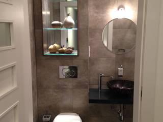 Gäste Bad im Extravaganten Luxus Fabrik Loft mit 230qm zu mieten von Die Design Fabrik