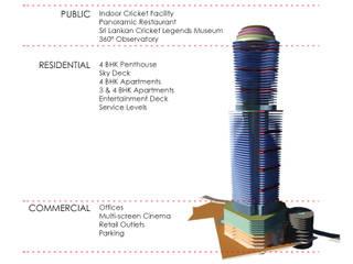 Altitude Modern houses by ARK Reza Kabul Architects Pvt. Ltd. Modern