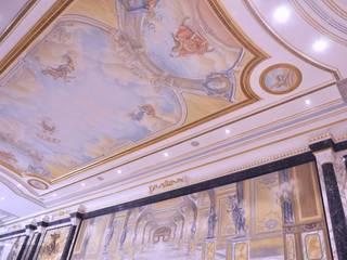Piscina privata Parigi - Francia:  in stile  di RE-Studio & Carella Art Design