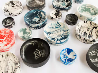 Poured Bowls: modern  by Troels Flensted, Modern