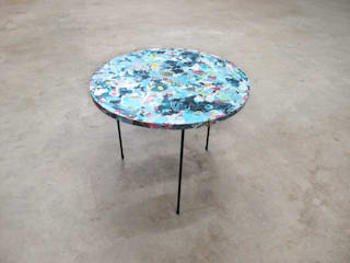 Poured Table: modern  by Troels Flensted, Modern