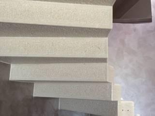 Quintarelli Pietre e Marmi Srl Modern corridor, hallway & stairs