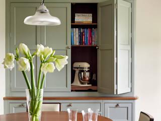 Fallowfield | Traditional English Country Kitchen Davonport ห้องครัว ไม้ Green