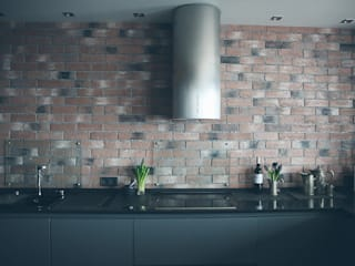 Industrial style kitchen by Designer Olga Aysina Industrial