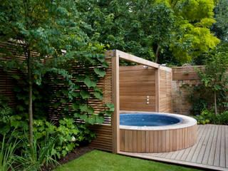 A City Garden Nowoczesny ogród od Bowles & Wyer Nowoczesny