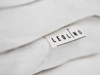 Leolino BedroomTextiles Flax/Linen White