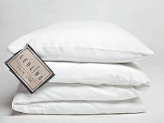 Leolino ห้องนอนสิ่งทอ ลินิน White