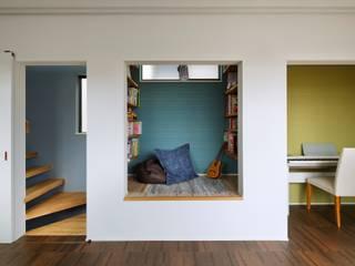 高津の家: 向山建築設計事務所が手掛けた和室です。,