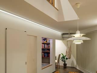 Moderne Wohnzimmer von 向山建築設計事務所 Modern