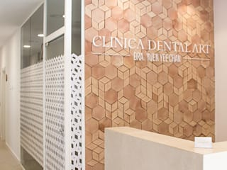 CLINIC DENTAL ART : Clínicas de estilo  de Bloomint design
