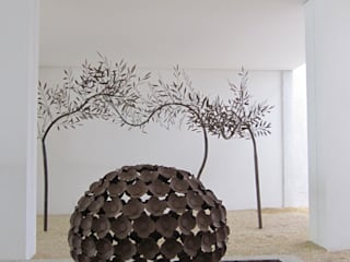 庭院 by Junia Lobo Paisagismo, 現代風