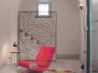 Colora la tua casa con i parquet decorati da Ronald Van Der Hilst Soggiorno eclettico di Xilo1934 Eclettico