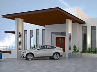 CASA SAAVEDRA Casas minimalistas de Design Arquitectos Minimalista