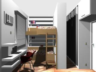 quarto para duas irmãs:   por Margareth Salles