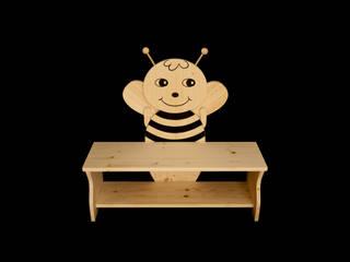 Kinderbank Biene von Kanaholz Ausgefallen