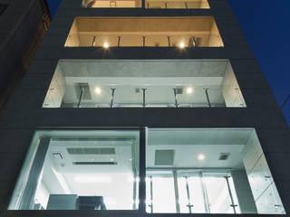 TKプロジェクト モダンな 家 の K2・PLAN 株式会社本多建築設計事務所 モダン