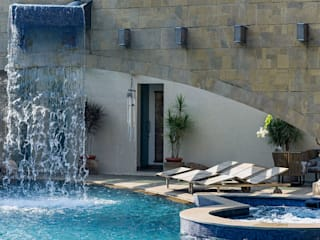 TAO Architecture Pvt. Ltd. Modern Pool