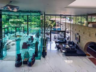 Modern living room by TAO Architecture Pvt. Ltd. Modern